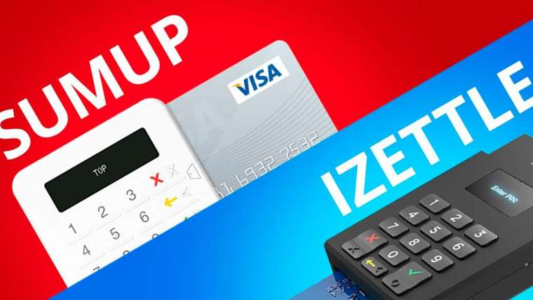 iZettle or SumUp: comparison of 2 mobile payment terminals